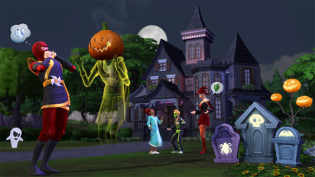 Sims 4 News:The rumor of The Sims 4 Spooky Stuff Pack has been confirmed true by EA.The Sims 4 Spooky Stuff Pack will be released at 29th September,2015