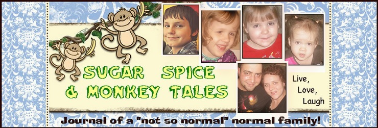 Sugar, Spice and Monkey Tales!