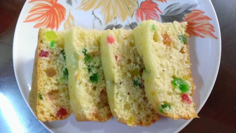 Christmas Cake - Tutti Frutti Cake