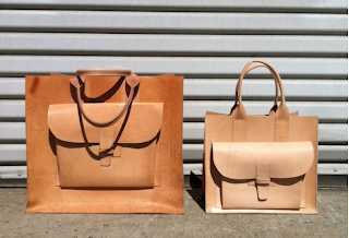 Agnes Baddoo leather tote bags