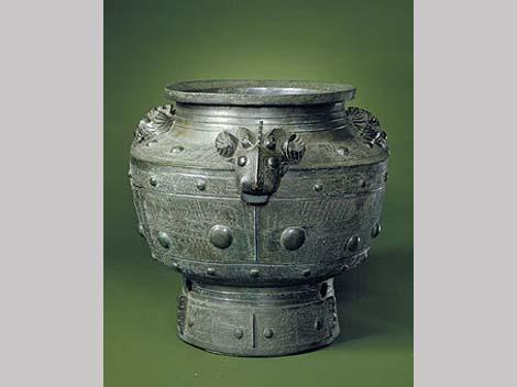 Chinese Shang dysnasty Bronze Zun