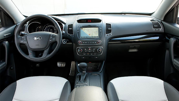 The New Kia Sorento SUV interior