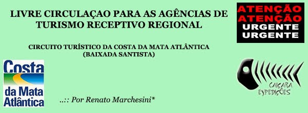 ..:: Circuito Turístico: Livre Circulação para Agências de Turismo Receptivo Regional ::..