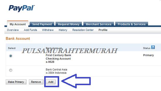 Cara Menambahkan Rekening Bank Payoneer Ke Paypal 5