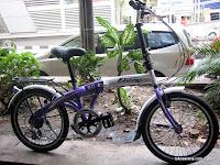 Sepeda Lipat Exotic Simple Life 2.0 6 Speed Shimano 20 Inci