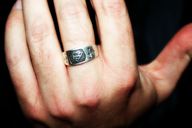 Superman wedding ring you 39ll get an extra 5 entries