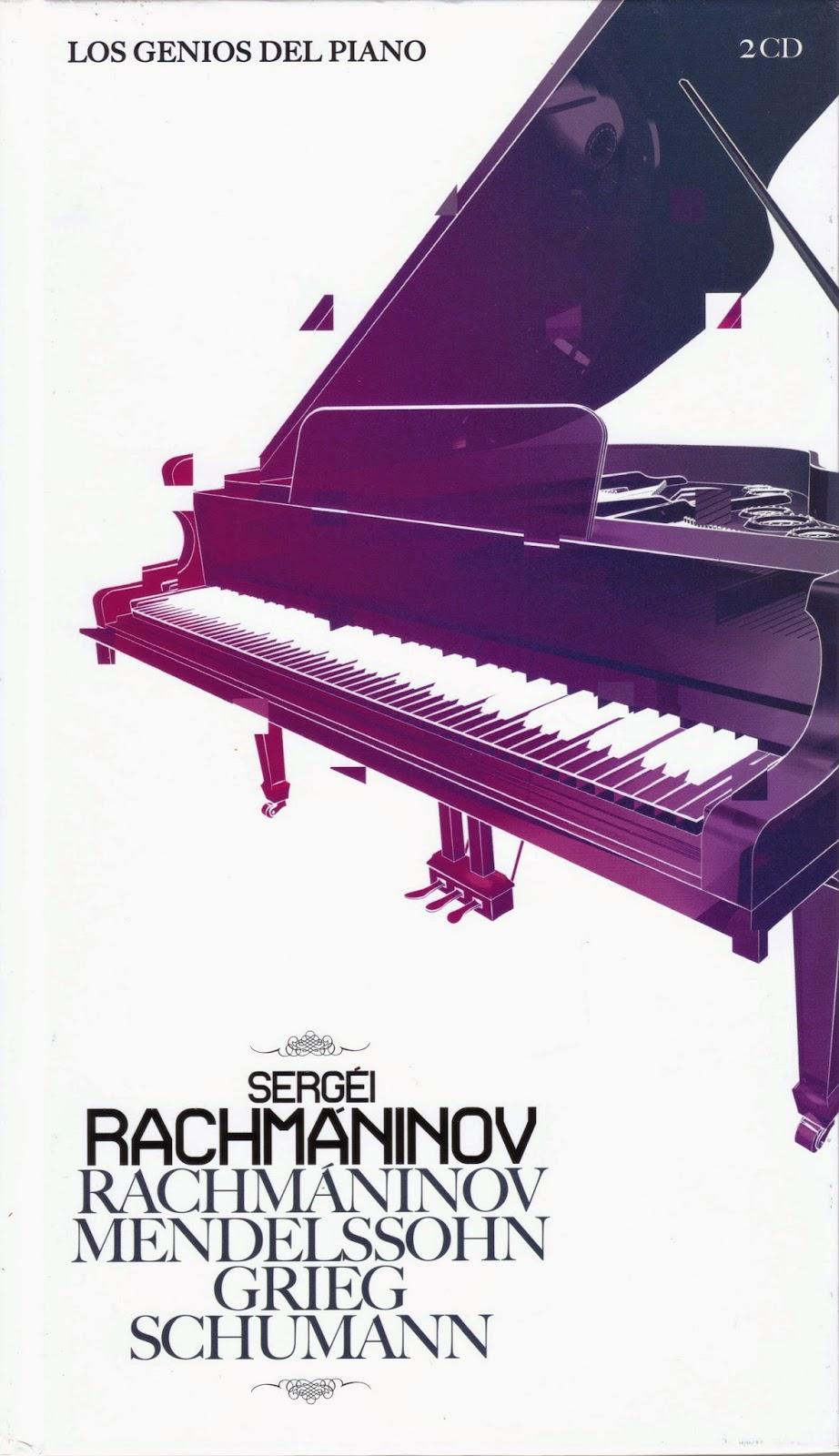 Imagen de Colección Los Genios del Piano-06-Sergei Rachmaninov & Mendelsshon, Grieg y Schumann