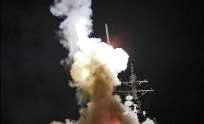 lanzamiento de misil en libia