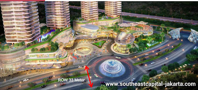 Row Jalan 33m Southeast Capital Jakarta