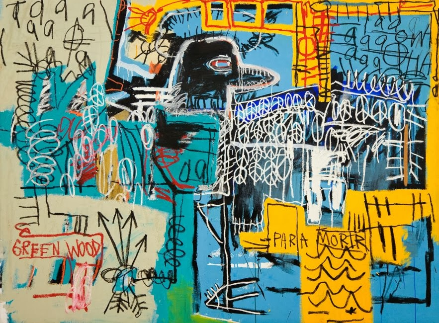 Jean Michael Basquiat, Bird On Money 1981