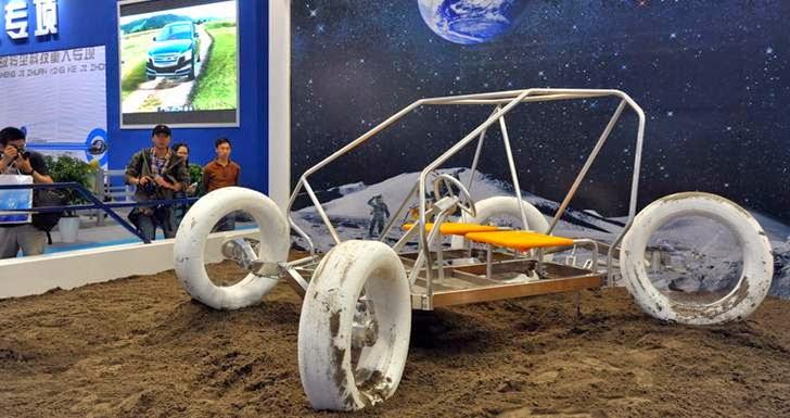 kendaraan robot lunar