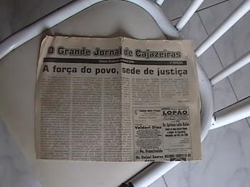 GRANDE JORNAL DE CAJAZEIRAS  EDITOR CHICO DO RADIO
