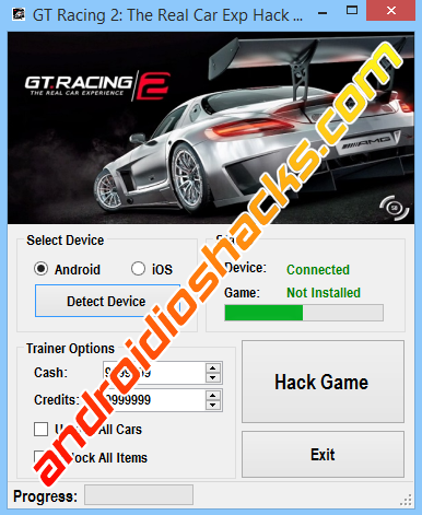 GT Racing 2 The Real Car Exp Hack Cheat Tool v1.0.2 (Updated January
