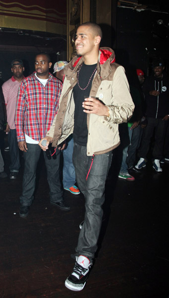 J Cole In Jordans LJS - Latest Fashion a...