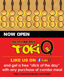 Toki Q Rotating Barbecue FB Promo