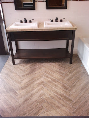 in your back pocket: faux wood tile: yay or nay?