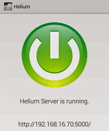 helium-server-running