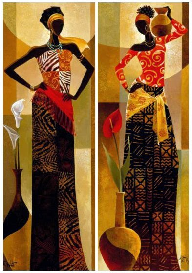 Art gallery african art online for Online art gallery paintings