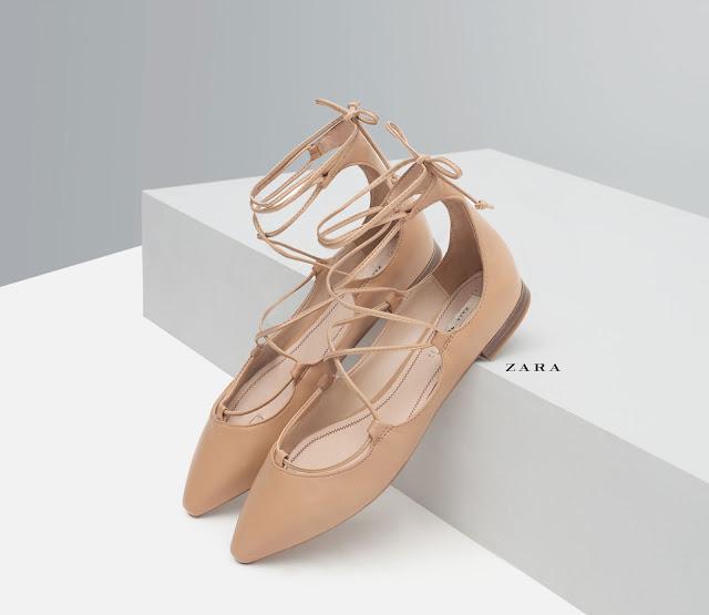 Bailarinas atadas Zara