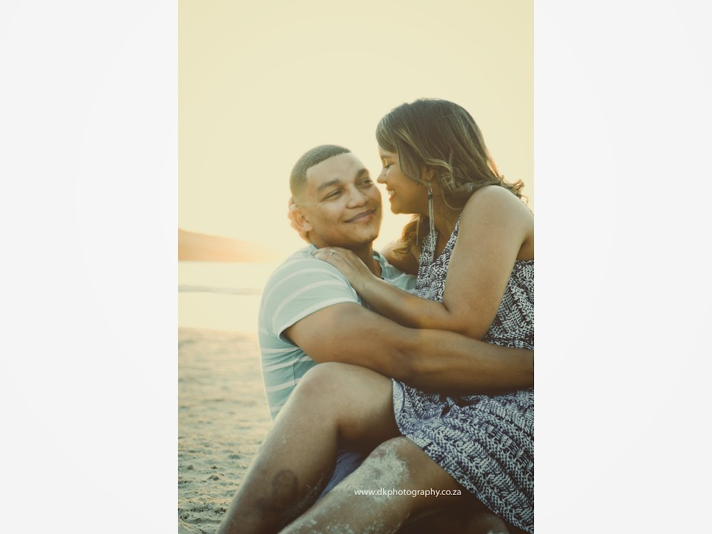 DK Photography LASTWEB-215 Robyn & Angelo's Engagement Shoot on Llandudno Beach { Windhoek to Cape Town }  Cape Town Wedding photographer