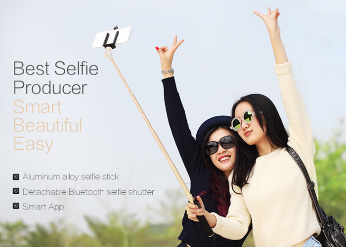 Rock Bluetooth Selfie Stick