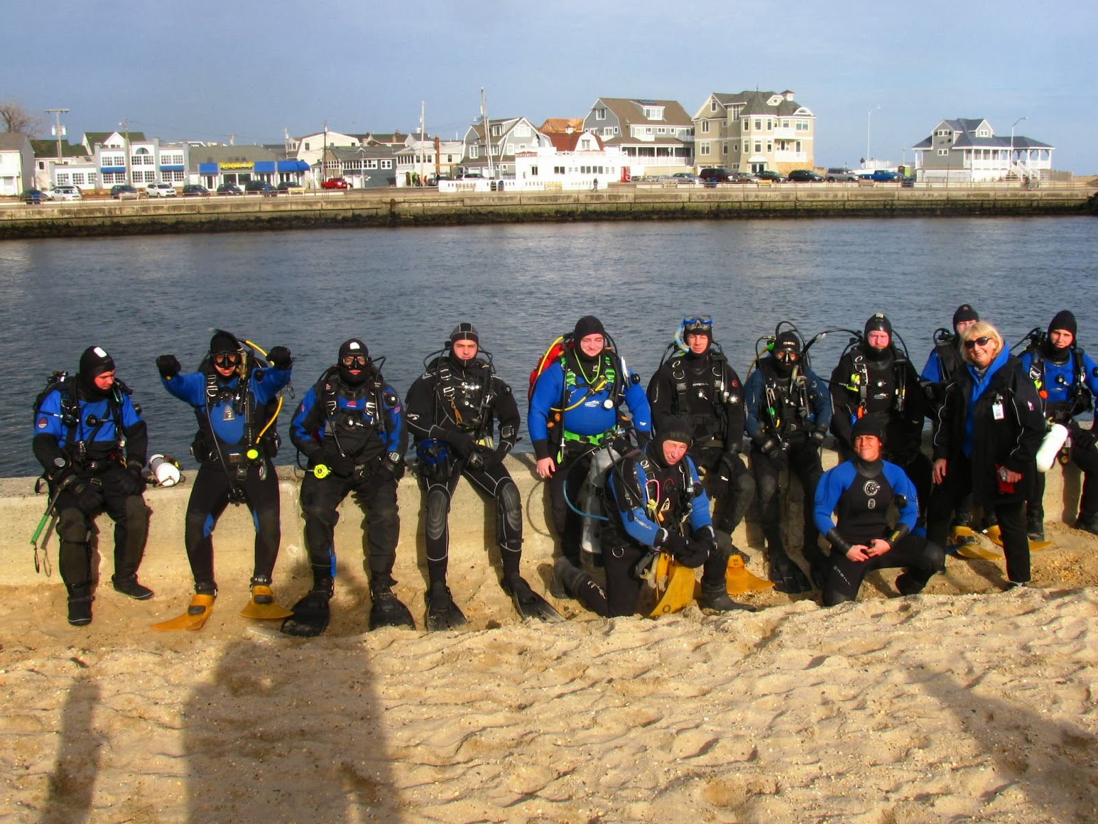 Point pleasant beach rescue dive team new years dive 2014 the last diver came out of the water one hour and twenty minutes later and the tide was just stopped then well the swimming everybody had to do helped keep nvjuhfo Image collections