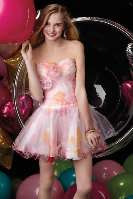 Vestidos modernos para fiesta de quinceañeras