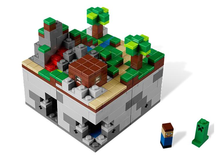 La magia de los cubos de minecraft llega a lego