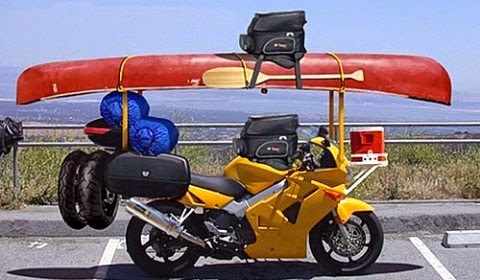 motorcycle packing
