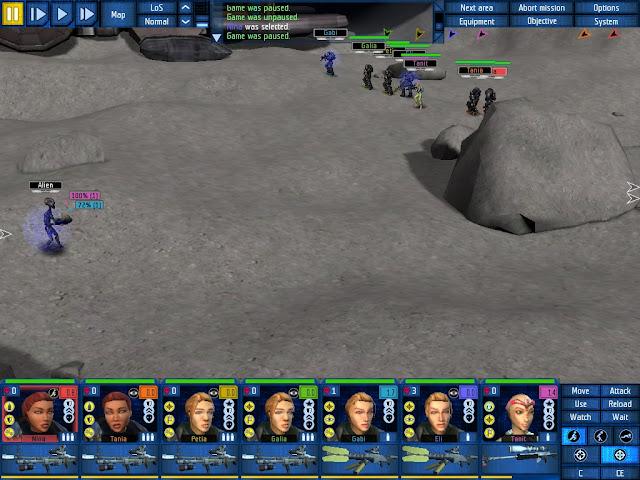 UFO: Aftershock - Moon Base Description