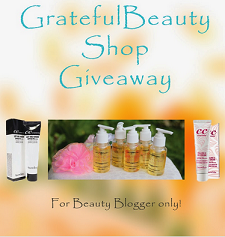Greatfullbeauty Shop Mini Giveaway