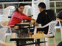 Gislaine ficou em terceiro lugar no feminino juvenil