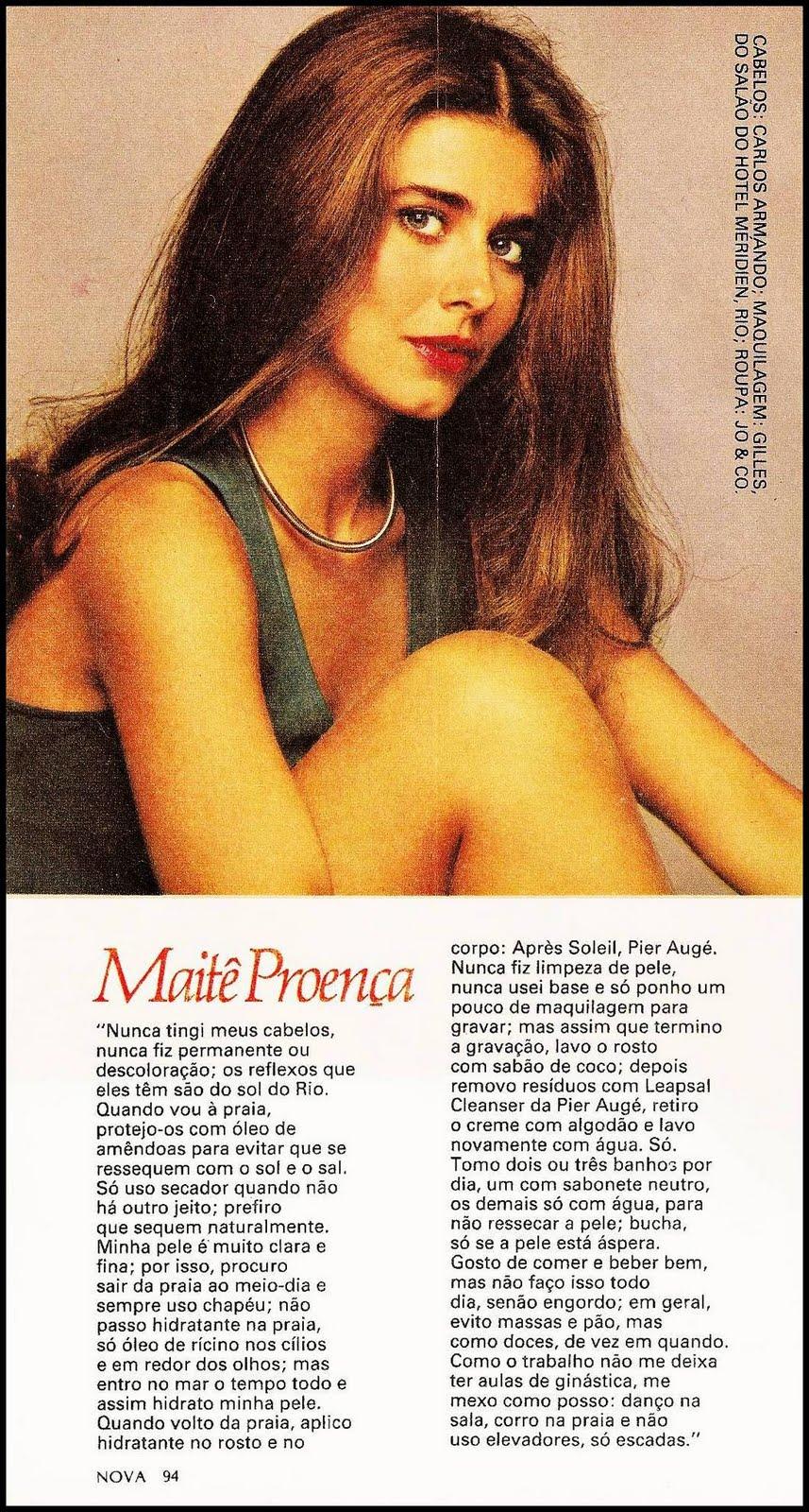Revista Nova Segredos De Beleza Mait Proen A