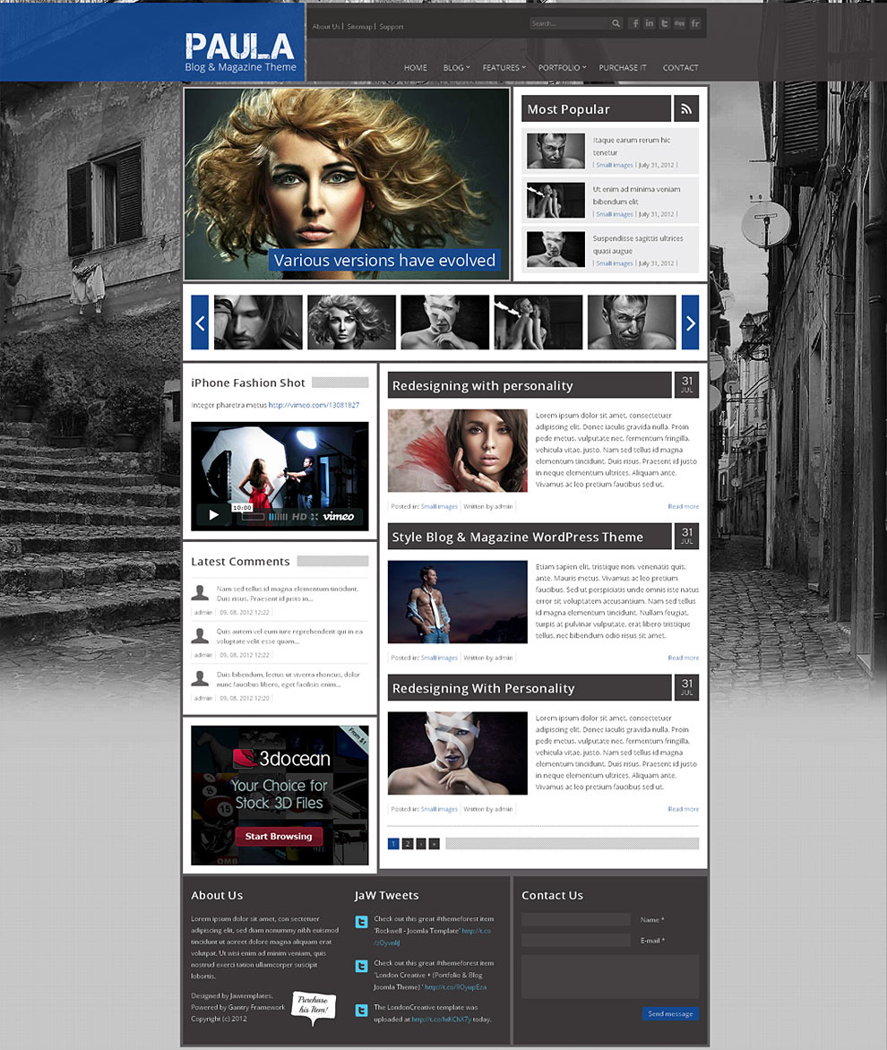 Paula-Blog-and-Magazine-Best-Wordpress-Template