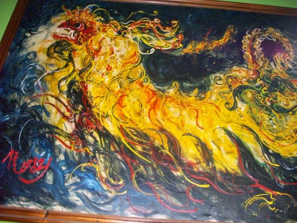 daftar lukisan karya pelukis affandi