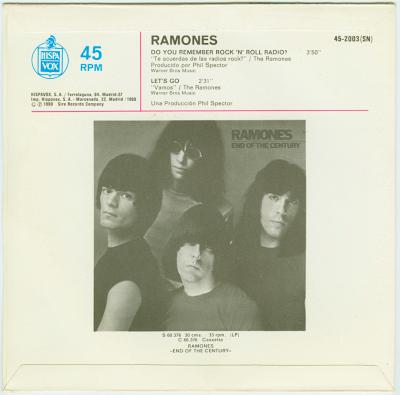 Ramones Pretenders She Is A Sensation Message Of Love