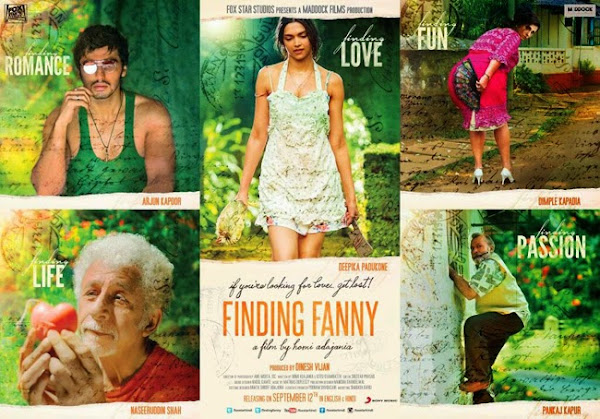 Finding Fanny (2014) Movie Poster No. 4