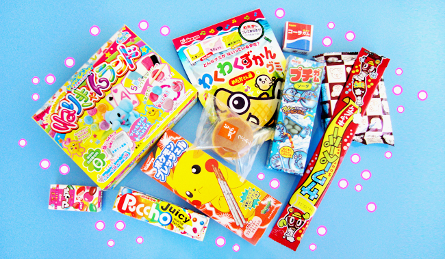 review, japan candy box. kawaii