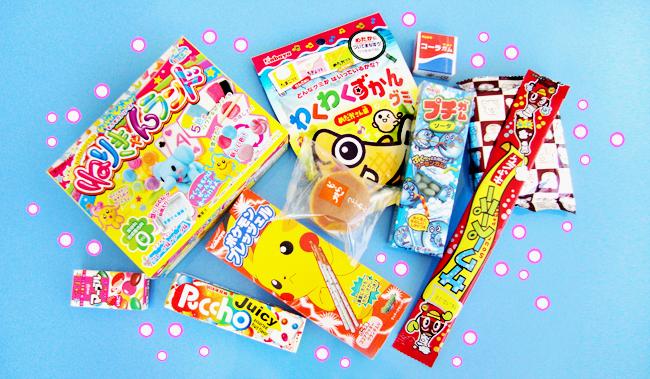 review, japan candy box. kawaii