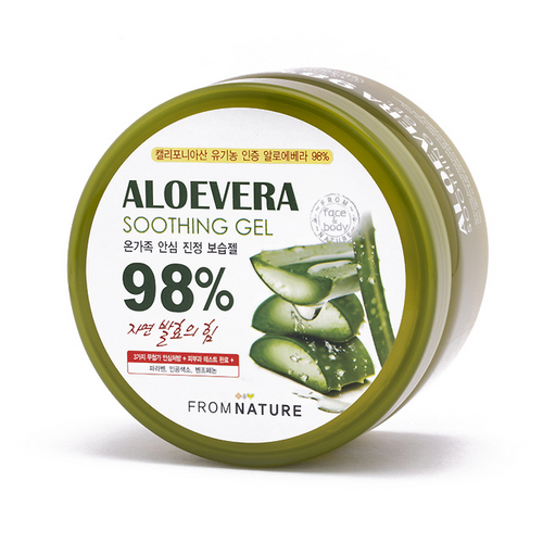 From Nature Aloe Vera 98% Soothing Gel 500g