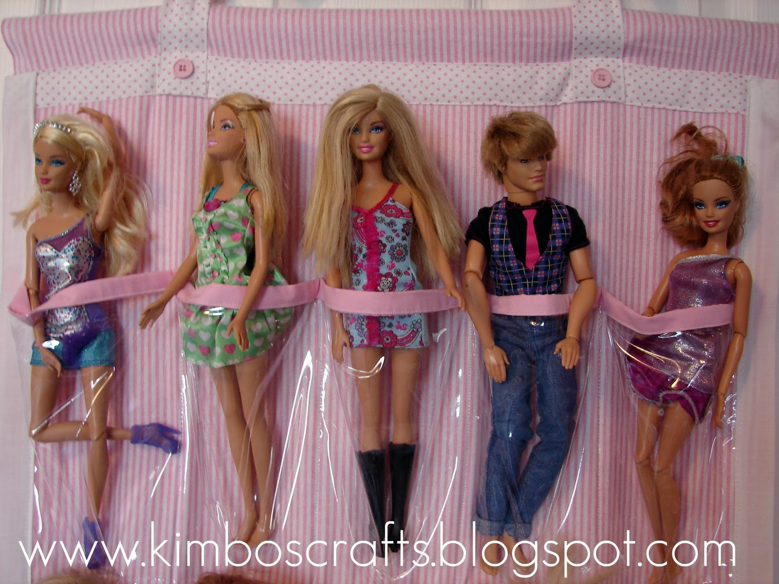Barbie Organizer A Girl And A Glue Gun - Barbie doll storage ideas