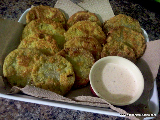 Simple Sides: Fried Green Tomatoes - The Kitchenista Diaries
