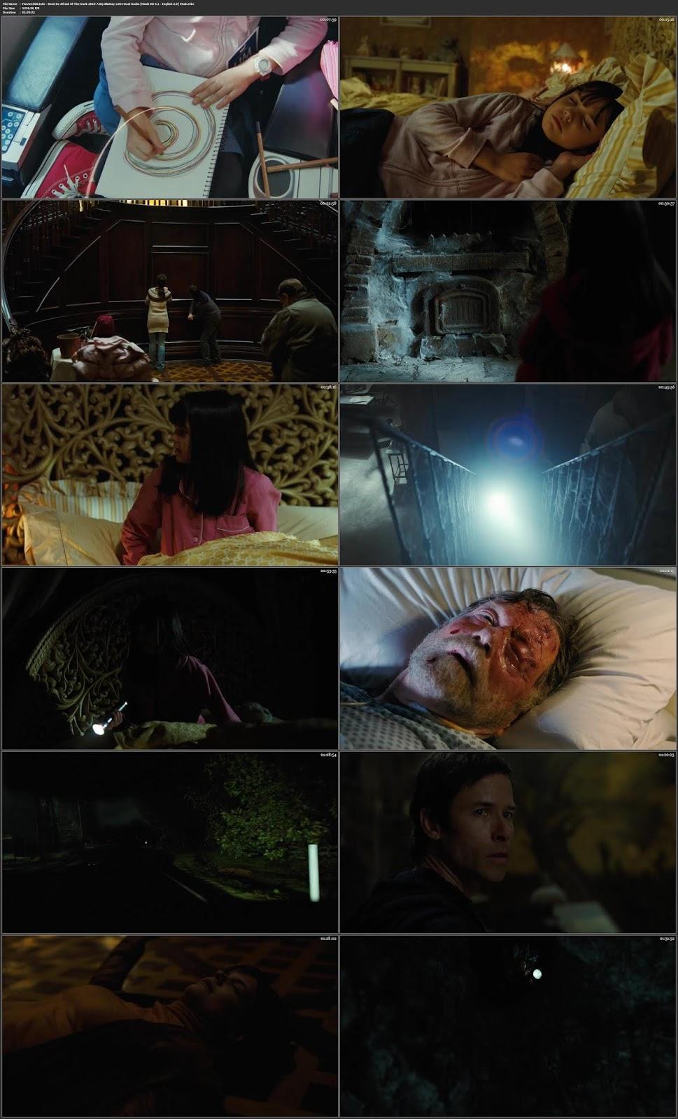 Don't Be Afraid of the Dark 2010 Dual Audio Hindi ENG BluRay 720p