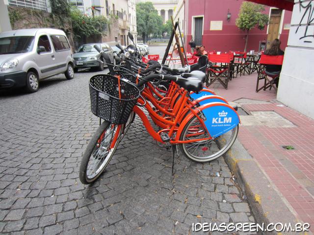 Onde alugar uma bicicleta em Buenos Aires La Bicicleta Naranja