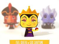 Evil Queen - Disney minipaper