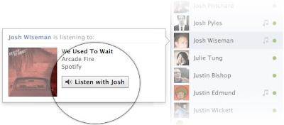 Listen With Facebook Name Now