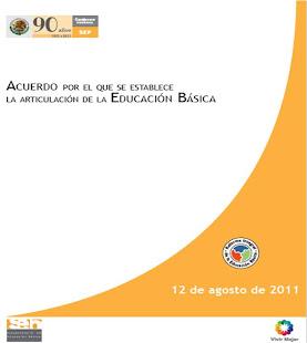 ACUERDO ARTICULACIÓN EDUCACIÓN BÁSICA 2011