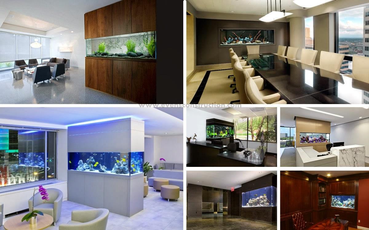 Aquarium Designs Garden Decoration Ideas Homemade - Fish tank designs for home