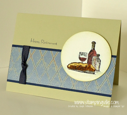Happy Retirement Masculine Themed Card