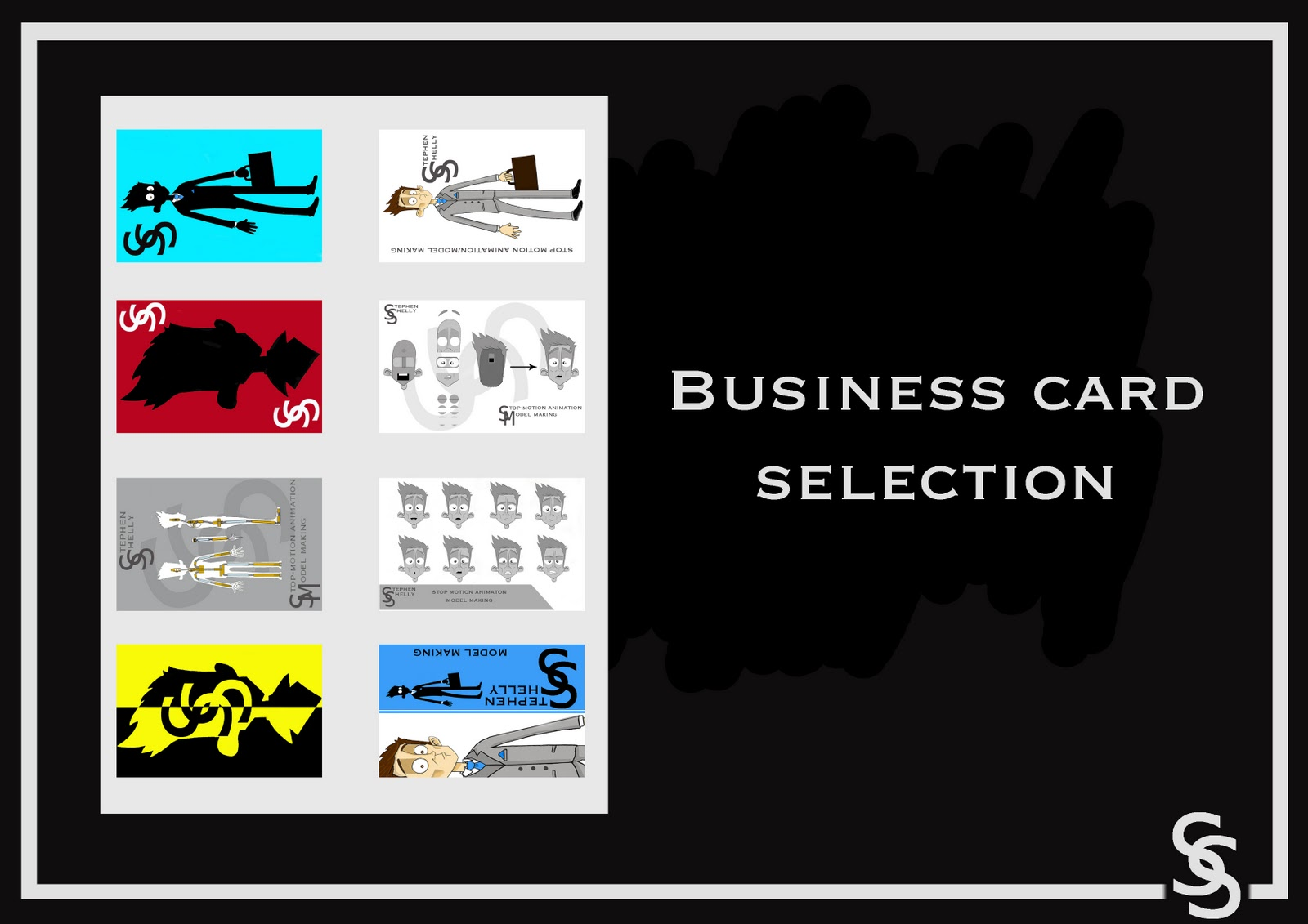 Animation Overdrive Business cards